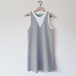 Zara Trafaluc Striped Shift Tank Dress Size Small